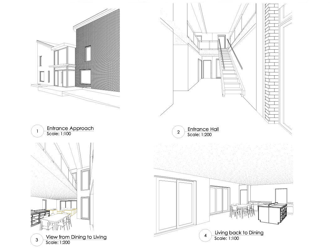 3d modelling in autococad by Low Energy Design architect